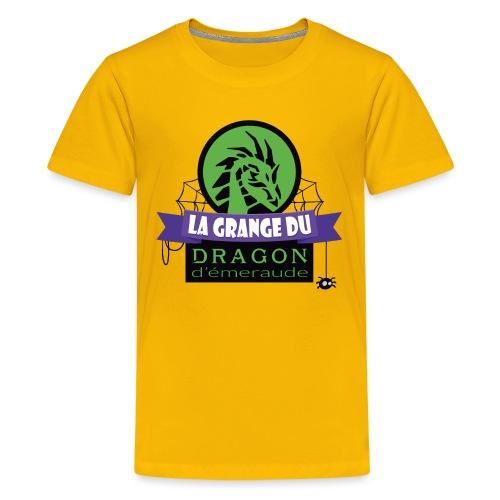 La grange du Dragon d'émeraude - T-shirt Premium Ado
