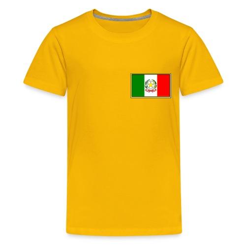 Bandiera Italiana - Maglietta Premium per ragazzi
