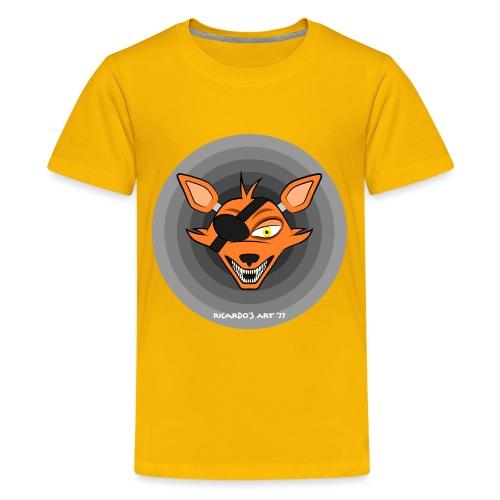 Five Nights at Freddy's - FNAF Foxy - Teenage Premium T-Shirt