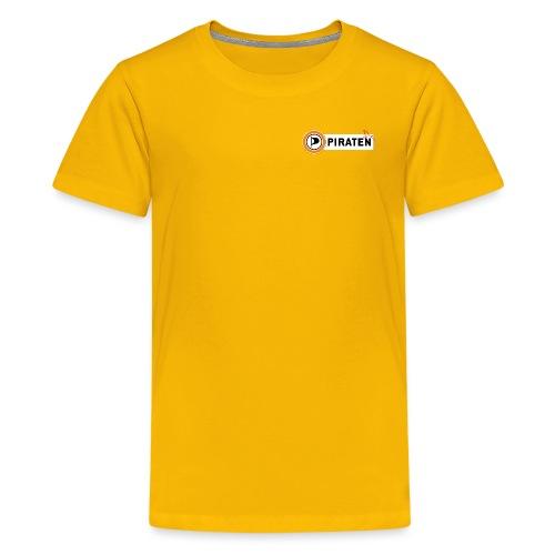 Piraten Logo - Teenager Premium T-Shirt
