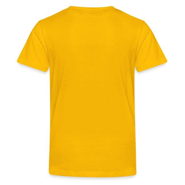 Rigormortiz Metallic Yellow Orange Design