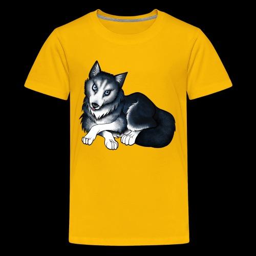 Husky - Teenage Premium T-Shirt