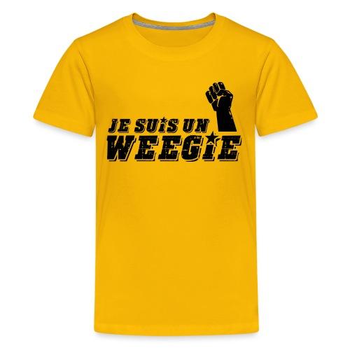 Je Suis Un Weegie - Teenage Premium T-Shirt