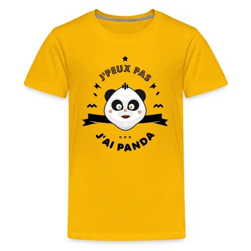 j'peux pas j'ai panda - T-shirt Premium Ado