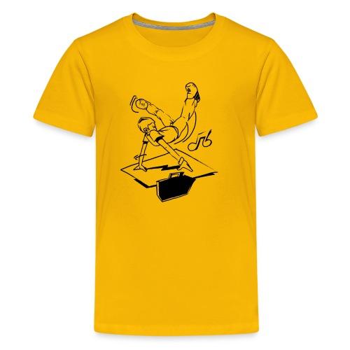 breaker part 1 ver0 1 - Teenager premium T-shirt