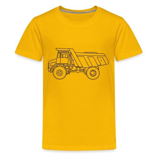 Muldenkipper, Kipplaster - Teenager Premium T-Shirt
