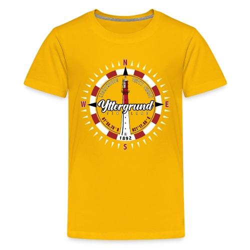 YTTERGRUND Majakka kompassi Tekstiilit ja tuotteet - Teinien premium t-paita