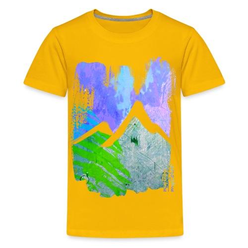 BergMorgen - Teenager Premium T-Shirt