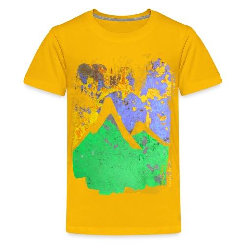 BergAbend - Teenager Premium T-Shirt