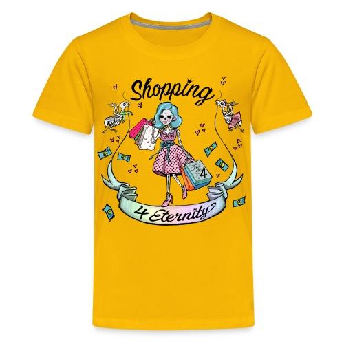 Shopping für immer und ewig - Teenager Premium T-Shirt