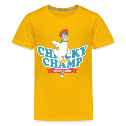 Chicky Champ - Maglietta Premium per ragazzi