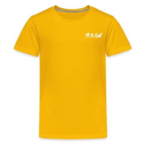 B&L Performance wit - Teenager Premium T-shirt