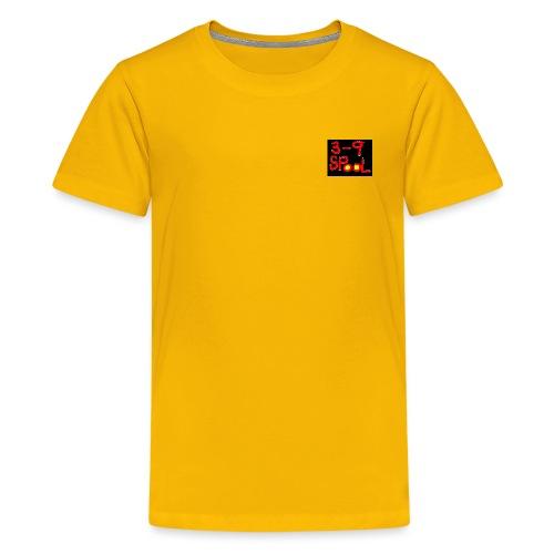 39 spool art 2 - Premium-T-shirt tonåring