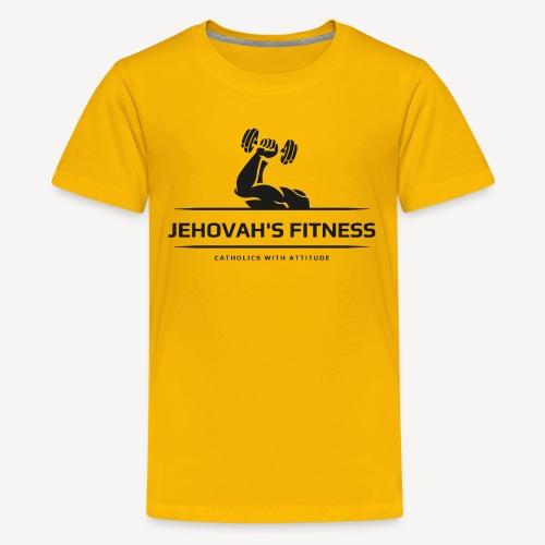 JEHOVAH'S FITNESS - Teenage Premium T-Shirt