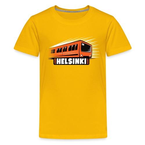 Helsinki Metro T-Shirts, Hoodies, Clothes, Gifts - Teinien premium t-paita