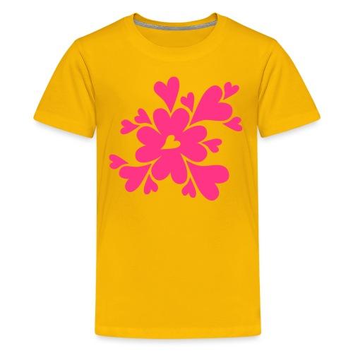 HJÄRTAN - Premium-T-shirt tonåring