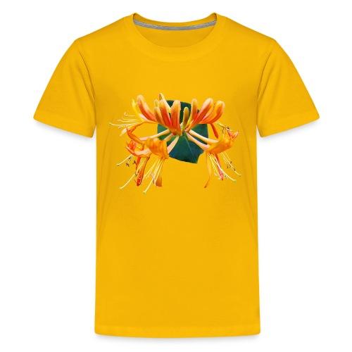TIAN GREEN Garten - Geißblatt 2020 01 - Teenager Premium T-Shirt