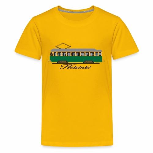 HELSINKI RATIKKA T-PAIDAT, HUPPARIT JA LAHJAT - Teinien premium t-paita