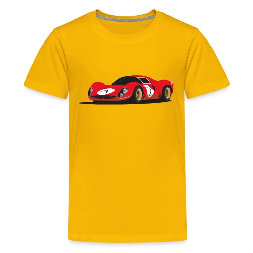 Illustration of a legend - Teenager Premium T-Shirt