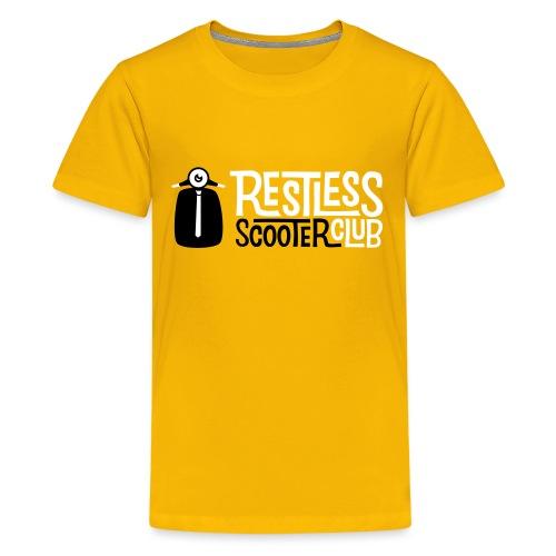 Classic rikskringkasting - Premium T-skjorte for tenåringer