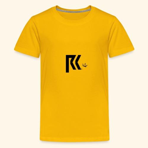 RK Official Design Black - Teenager Premium T-Shirt