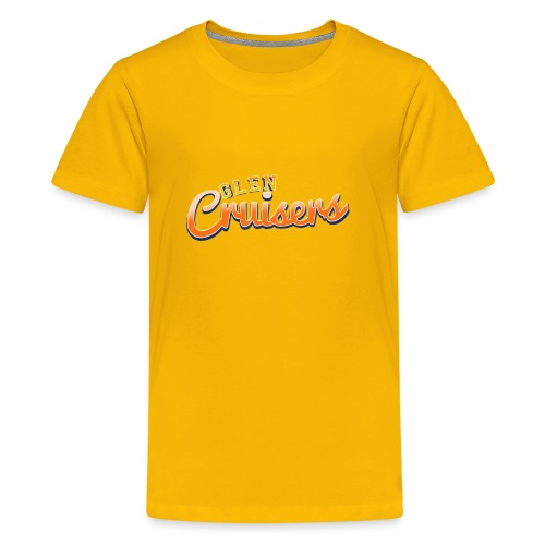 Vintage Cruisers Logo - Teenage Premium T-Shirt