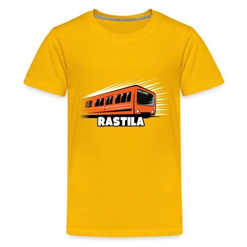 RASTILA Helsingin metro t-paidat, vaatteet, lahjat - Teinien premium t-paita