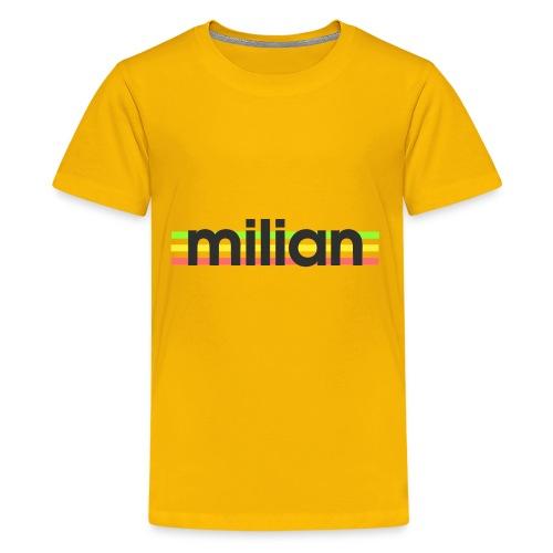 milian gruen gelb rot - Teenager Premium T-Shirt