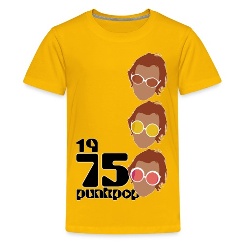 Elton PunkPop 1975 - Maglietta Premium per ragazzi