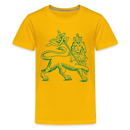 Lion of judah, ancient version by skashirts - Teenager Premium T-Shirt