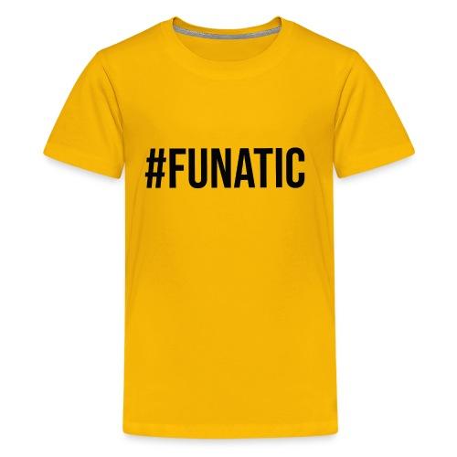 funatic logo - Teenage Premium T-Shirt