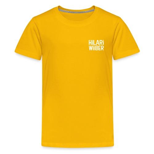 Hilari Wiiber - Classy - Teenager Premium T-Shirt