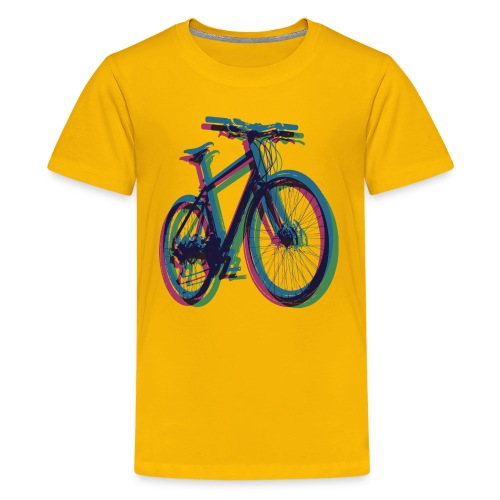 Bike Fahrrad bicycle Outdoor Fun Mountainbike - Teenage Premium T-Shirt