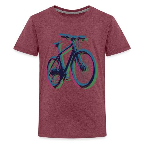 Bike Fahrrad bicycle Outdoor Fun Mountainbike - Teenage Premium T-Shirt