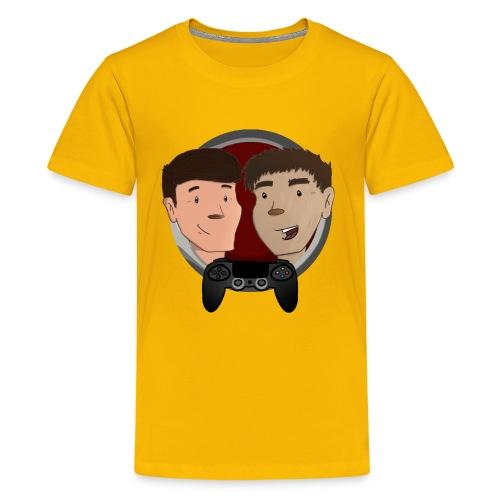 t skjorte design større2crop png - Premium T-skjorte for tenåringer