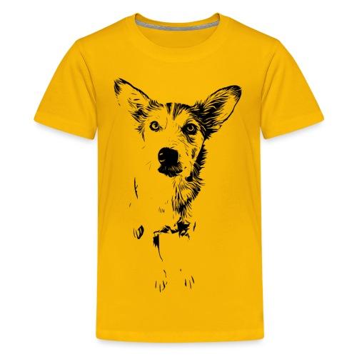 Podenco-Mischling / Hunde Design Geschenkidee - Teenager Premium T-Shirt