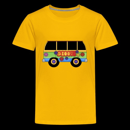 GROOVY BUS - Teenage Premium T-Shirt