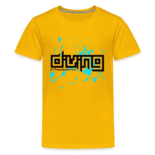 DIVING PASSION Diver textiles, gifts, products - Teinien premium t-paita