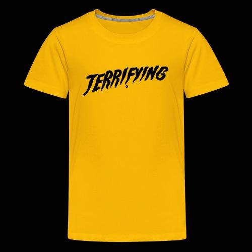 Terrifying, la peur graphique ! - T-shirt Premium Ado