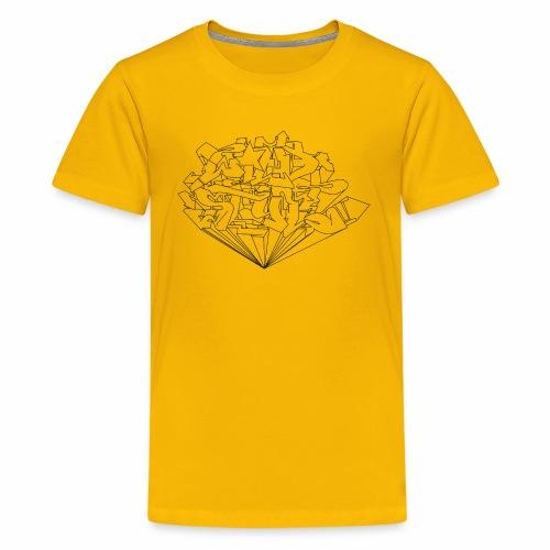 wild style ver01 Trick Aod - Teenager premium T-shirt