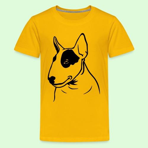 Tête de Bull Terrier - T-shirt Premium Ado