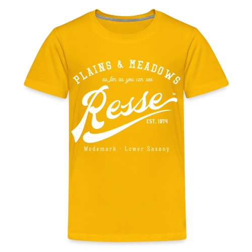 Resse Retrologo - Teenager Premium T-Shirt