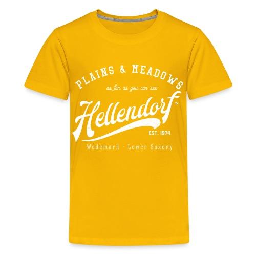 Hellendorf Retroshirt - Teenager Premium T-Shirt