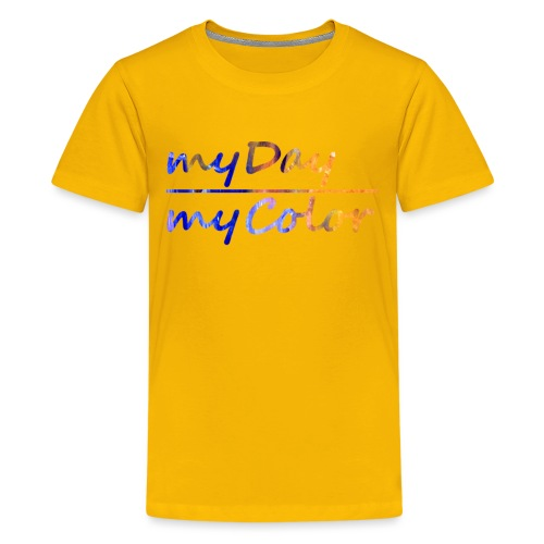myDay Schriftzug - Teenager Premium T-Shirt