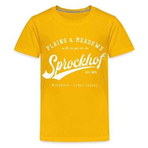 Sprockhof Retrologo - Teenager Premium T-Shirt