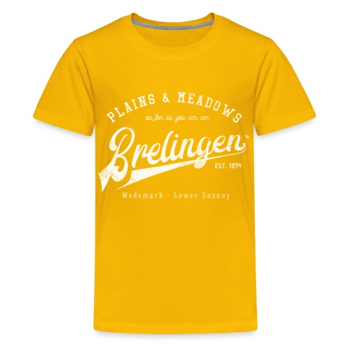 Brelingen Retroshirt - Teenager Premium T-Shirt