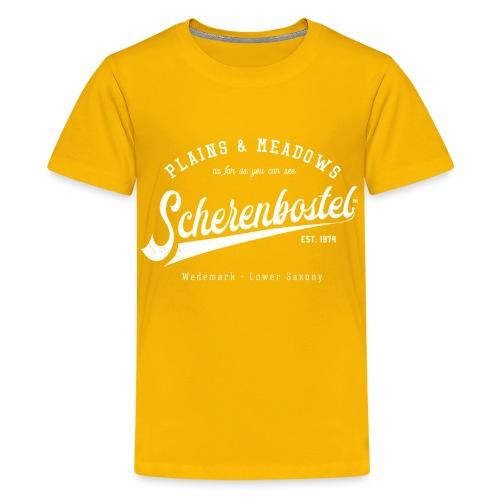 Scherenbostel Retrologo - Teenager Premium T-Shirt