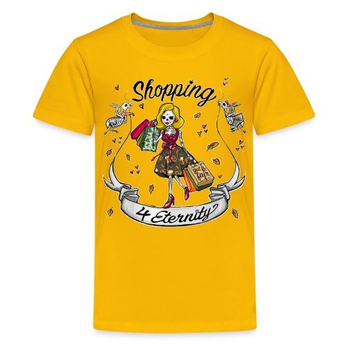 Shopping für immer & ewig, Herbst-Liebe - Teenager Premium T-Shirt