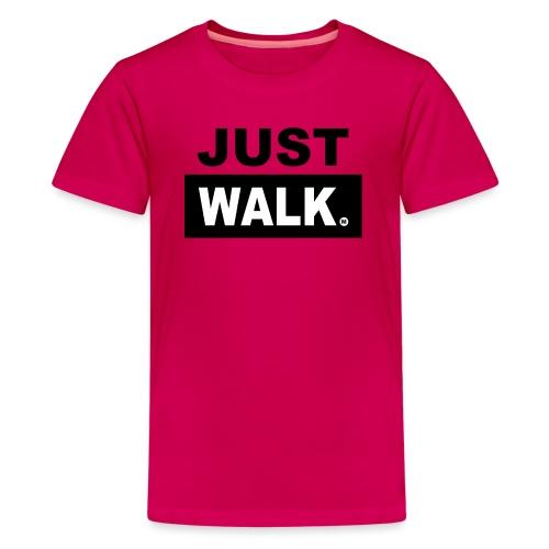 JUST WALK KIDS & TEENS colour - Teenager Premium T-shirt