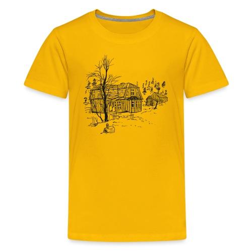 Countryside - Teenage Premium T-Shirt